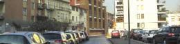Il nuovo edificio - vista dalla via Fontanili